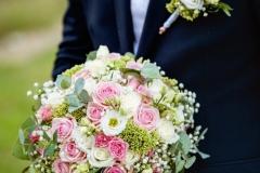 Svatební kytice + korsáž